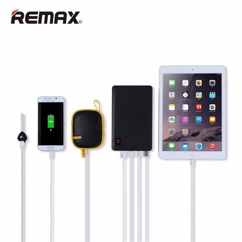Original Remax 30000 mAh 4 USB Mobile batterie externe chargeur de batterie externe universel pour Huawei iPhone Samsung Xiaomi tablettes - 2