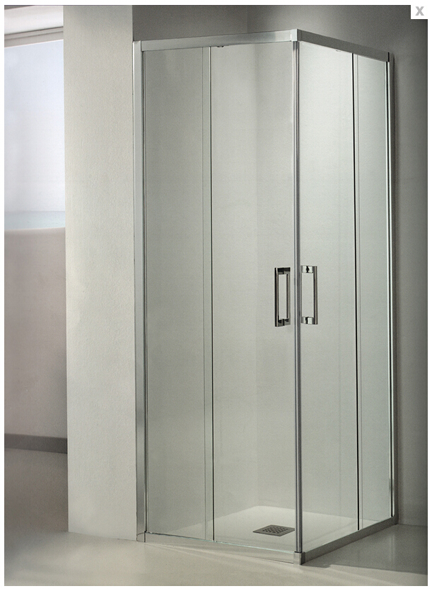 2016 hot sales wholesale and retail 6mm clear tempered glass shower ...