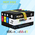 4 pacote para hp950 951 cartucho de tinta para hp 950xl 951xl Officejet Pro 251dw 8100 8610 8615 8620 8640 8630 8600 Mais impressora