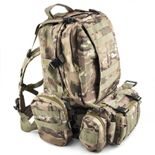 SZ-LGFM-50 L 3 Day Outdoor Military Rucksacks Camping bag – CP Camouflage