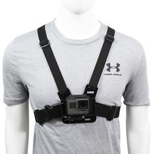 Chest Strap mount belt for Gopro hero 9 8 7 6 5 4 Xiaomi yi 4K DJI OSMO Action camera Harness for Go Pro SJCAM EKEN Accessories cheap PULUZ SA-964 SOOCOO Insta360 CN(Origin) Straps Mounts Bundle 1 Nylon