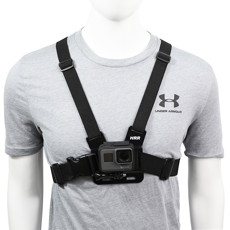 Chest Strap mount belt for Gopro hero 9 8 7 6 5 4 Xiaomi yi 4K DJI OSMO Action camera Harness for Go Pro SJCAM EKEN Accessories-0