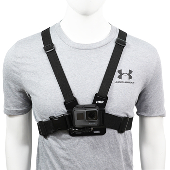 Chest Strap mount belt for Gopro hero 9 8 7 6 5 4 Xiaomi yi 4K DJI OSMO Action camera Harness for Go Pro SJCAM EKEN Accessories