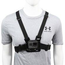 الصدر حزام جبل حزام ل Gopro بطل 9 8 7 6 5 4 شاومي يي 4K DJI osor عمل كاميرا تسخير ل الذهاب برو SJCAM EKEN اكسسوارات