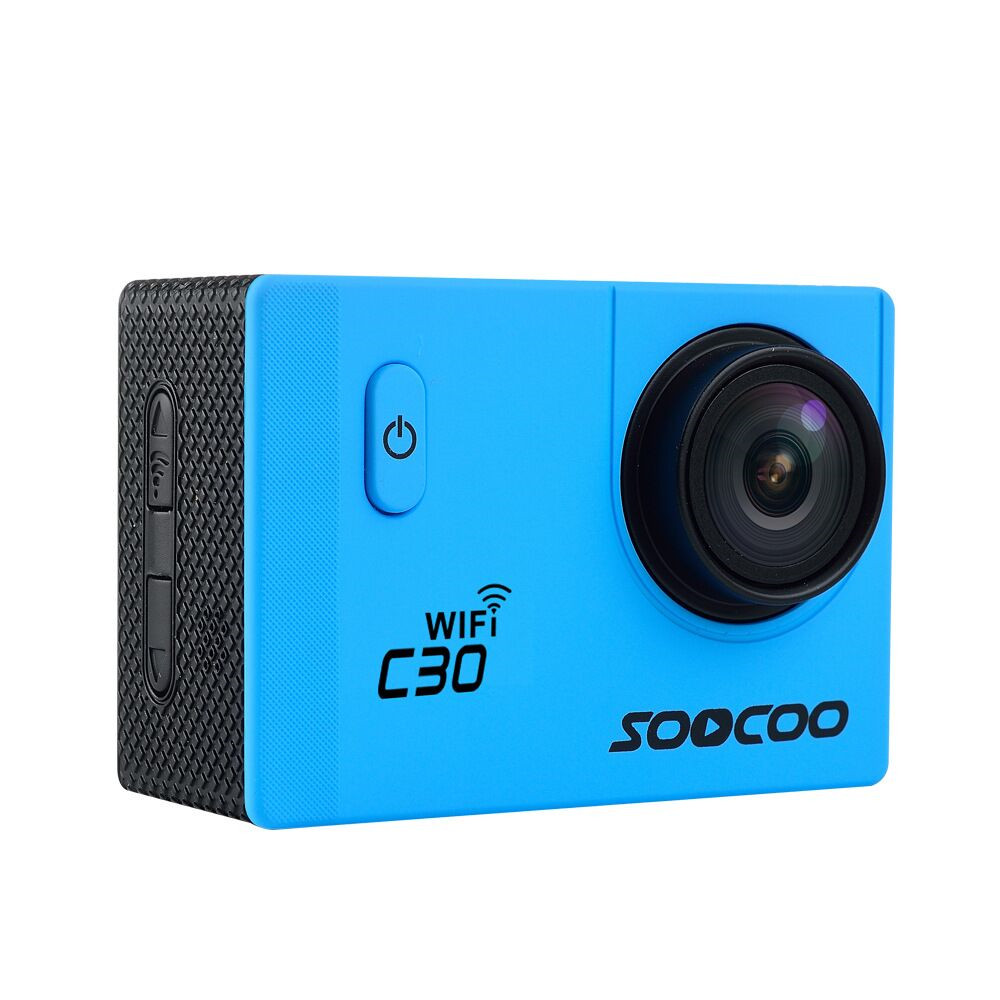 Soocoo c30 2 k 30fps wifi 170 ángulo ajustable 30 m impermeable deportes al aire