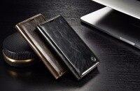 CaseMe For Sony Xperia Z5 Case Luxury Retro QPU Leather Case For Xperia Z5 Premium Magnetic