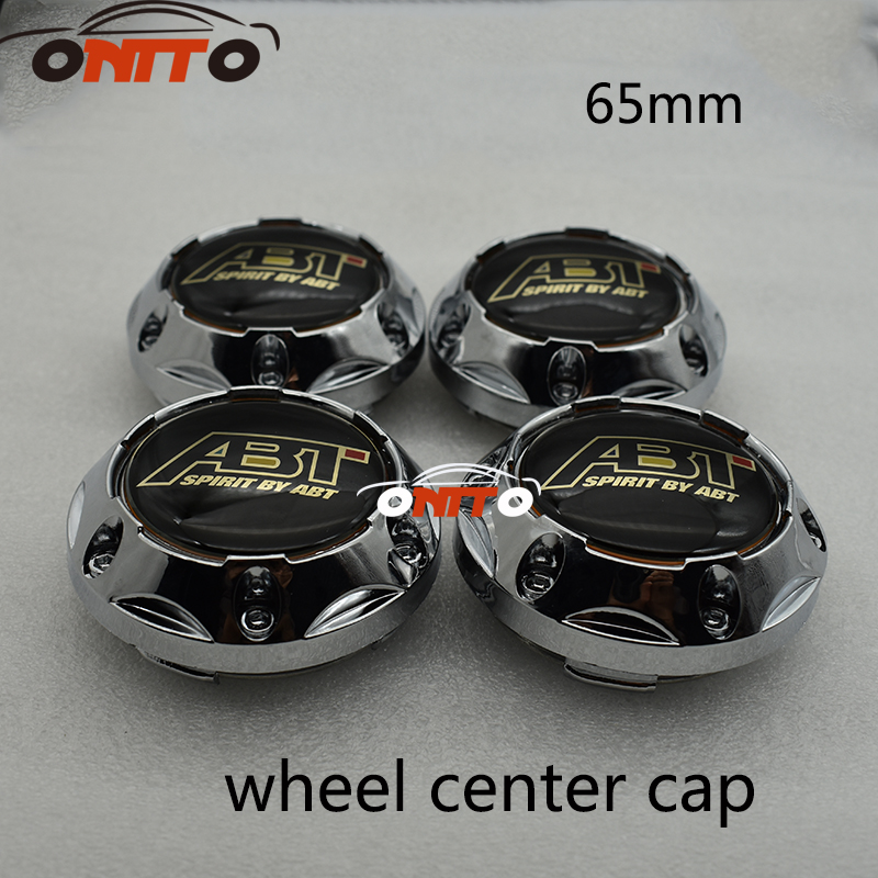 4pcs 65mm Wheel Center Centre Hubs Caps Emblem For Polo Golf A1 A2 A3 A4 A5 A6 A7 A8 Q1  ...