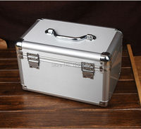 Aluminum alloy storage box jewelry box organization cosmetic medicine Sundries box tool case package air box