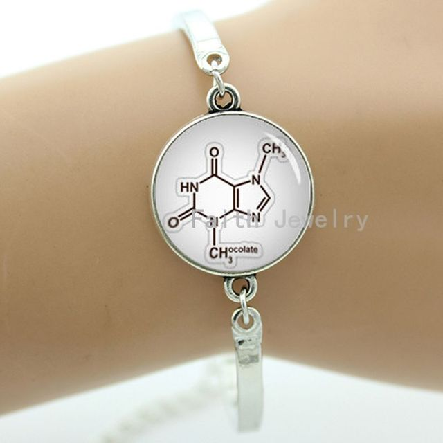Aliexpress Buy New Design Chemical Formula Braceletchocolate