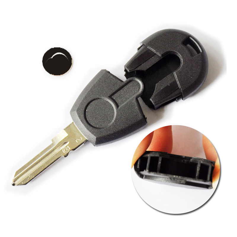 US $15 5 |3PCS/LOT Fiat transponder key shell with Red logo Fiat key Blanks  Free shipping-in Tire Pressure Alarm from Automobiles & Motorcycles on