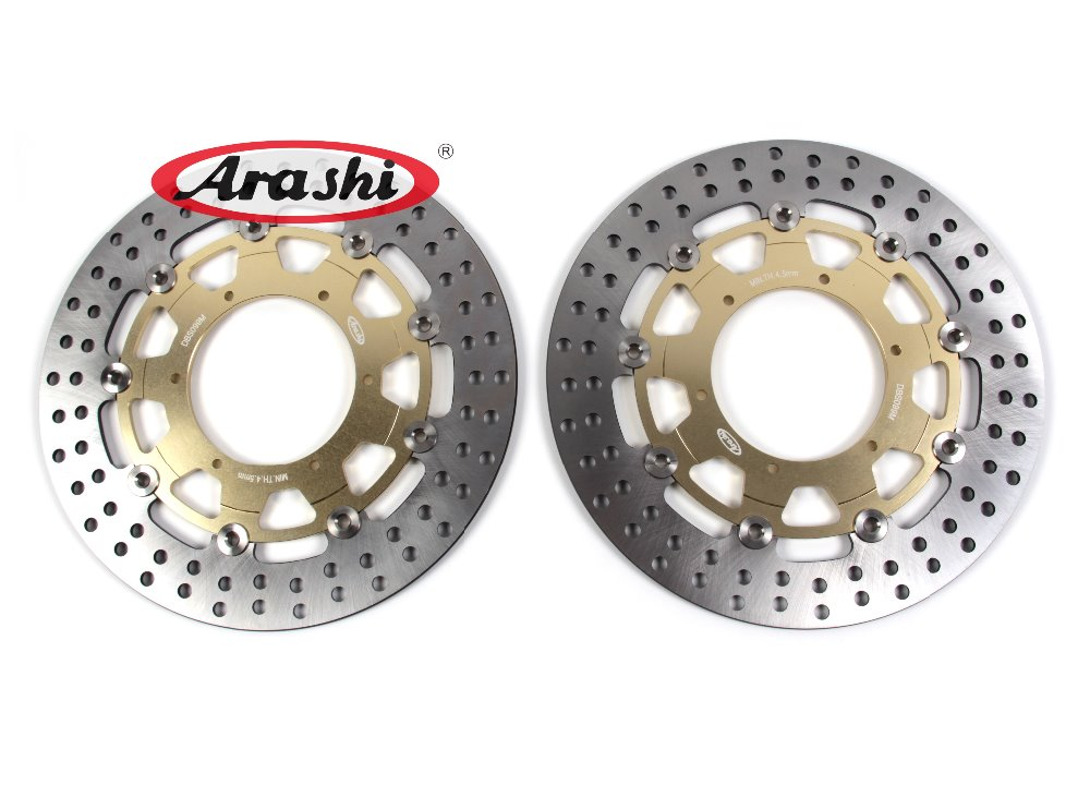 Arashi 2PCS F800GS 2009-2015 Motorcycle CNC Front Brake Discs Brake Rotors For BMW F 800 GS 2009 2010 2011 2012 2013 2014 2015 пороги rival bmw style hyundai ix35 2010 2013 2015 kia sportage 2010 2014 2015 круг 173 см крепеж 2 шт