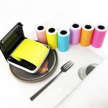 Горячая Новинка 57x30 мм самоклеящаяся термальная бумага для наклеек для бумаги ang фотопринтер