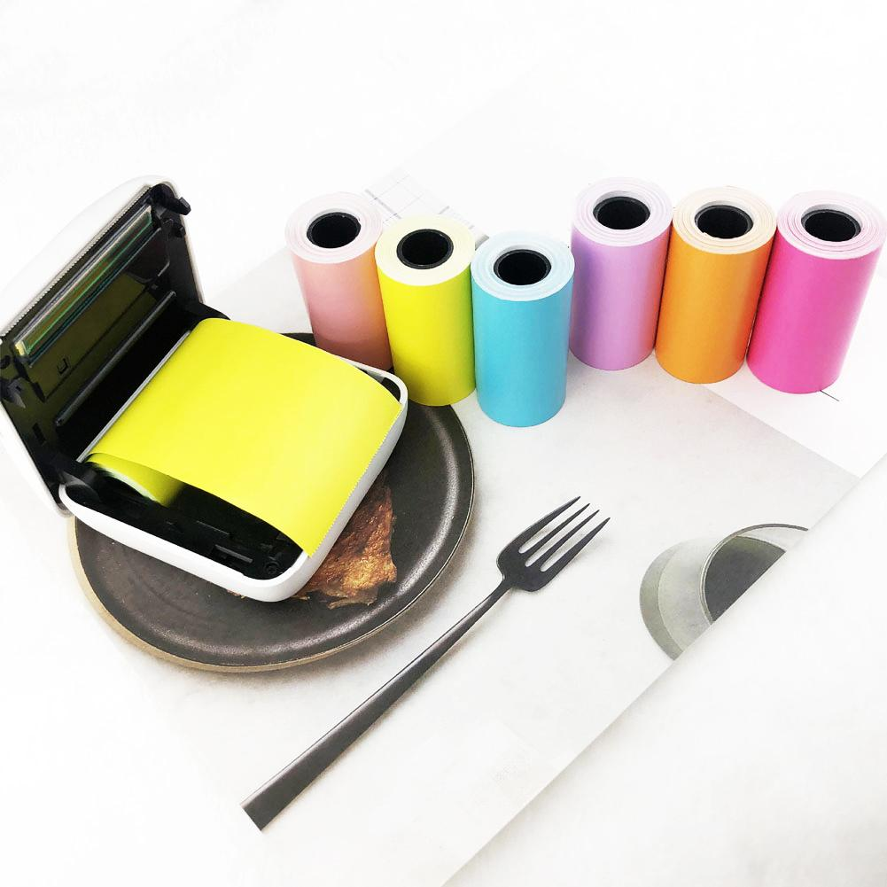 HOT New SALE 57x30mm Self-adhesive Thermal Sticker Printing Paper For Paperang Photo Printer