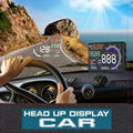 A8 HUD 5.5'' Car HUD Auto Head Up Display LCD Digital Projector Vehicle OBD II Interface Overspeed Alarm System