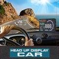 A8 HUD HUD 5.5 ''Coche Auto Head Up Display LCD Proyector Digital Vehículo OBD II Interfaz de Sistema de Alarma de Exceso de velocidad