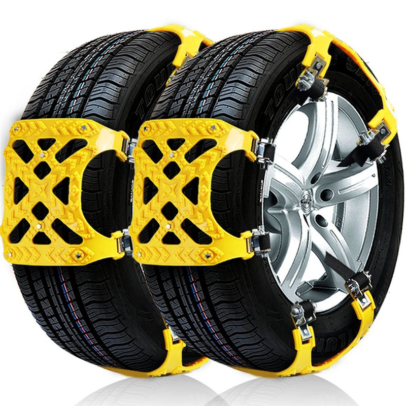 Hot Sale 3x Tpu Snow Chains Universal Car Suit 165 265mm Tyre Winter
