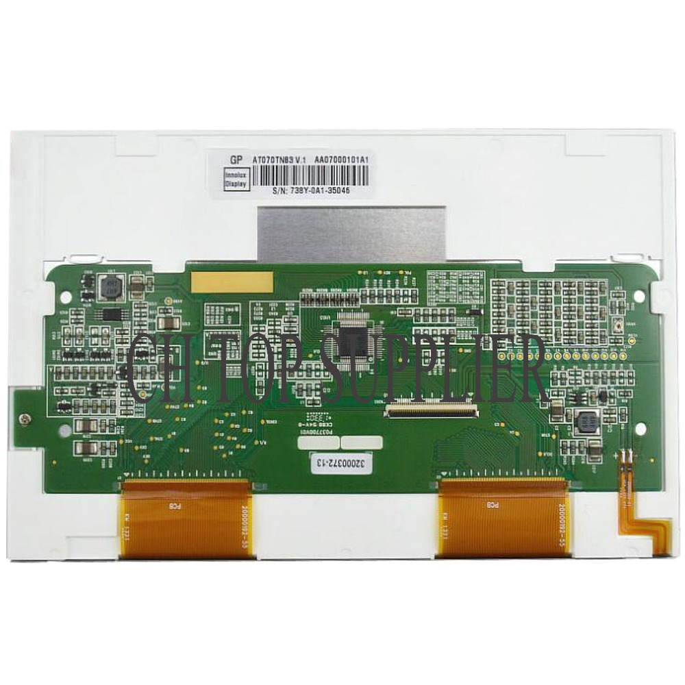 Original New <font><b>7</b></font> inch TFT INNOLUX AT070TN83 V.1 AT070TN83-v1.0 <font><b>40</b></font> <font><b>Pin</b></font> LCD Screen Panel Module Controller 800x480 image