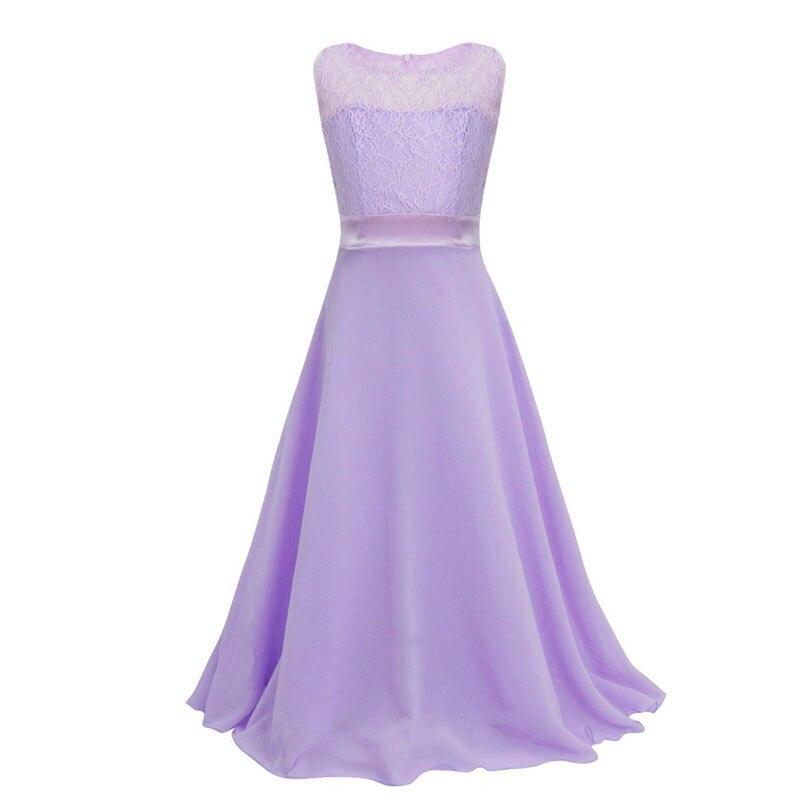 Tienda Online Adolescente Niñas Encaje vestido 2017 moda ...