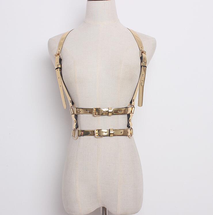 Women's Runway Fashion PU Leather Cummerbunds Female Dress Corsets Waistband Belts Decoration Wide Belt R1632