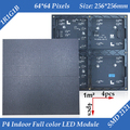 Wholesale 30pcs/lot 256*256mm 64*64pixels 1/32 Scan Indoor 3in1 SMD RGB full color P4 led display screen module