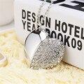 Творческий подарок Кристалл Сердца USB Flash Диск Ожерелье 2 ГБ 4 ГБ 8 ГБ 16 ГБ Ювелирные usb flash drive для друга любовник