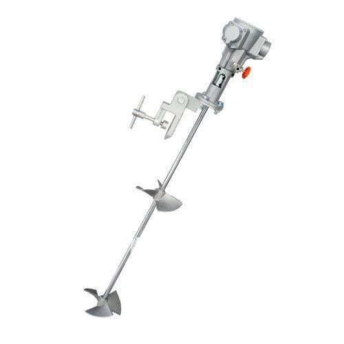 1/4HP Clamping Type Pneumatic Mixer, Air Agitator, Pneumatic Agitator