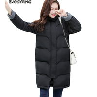New Fashion Women S Winter Jacket Park High Quality Down Cotton Big Yards Coat Long Thickthe
