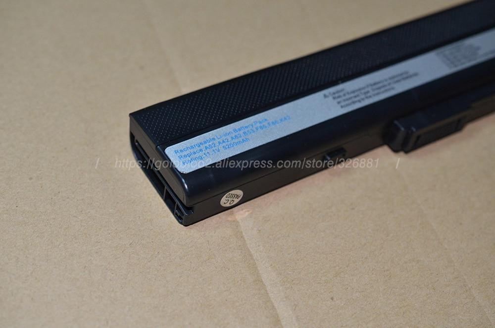 Golooloo 4400mAh Asus A32-K52 A52 K52F A52J A52F A52JB A52JK A52JR - Noutbuklar üçün aksesuarlar - Fotoqrafiya 5