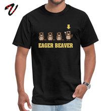 цена на Eager Beaver O-Neck Tshirts Summer Autumn Casual Tops Shirts Jewish Sleeve High Quality Moscow Tops T Shirt Men