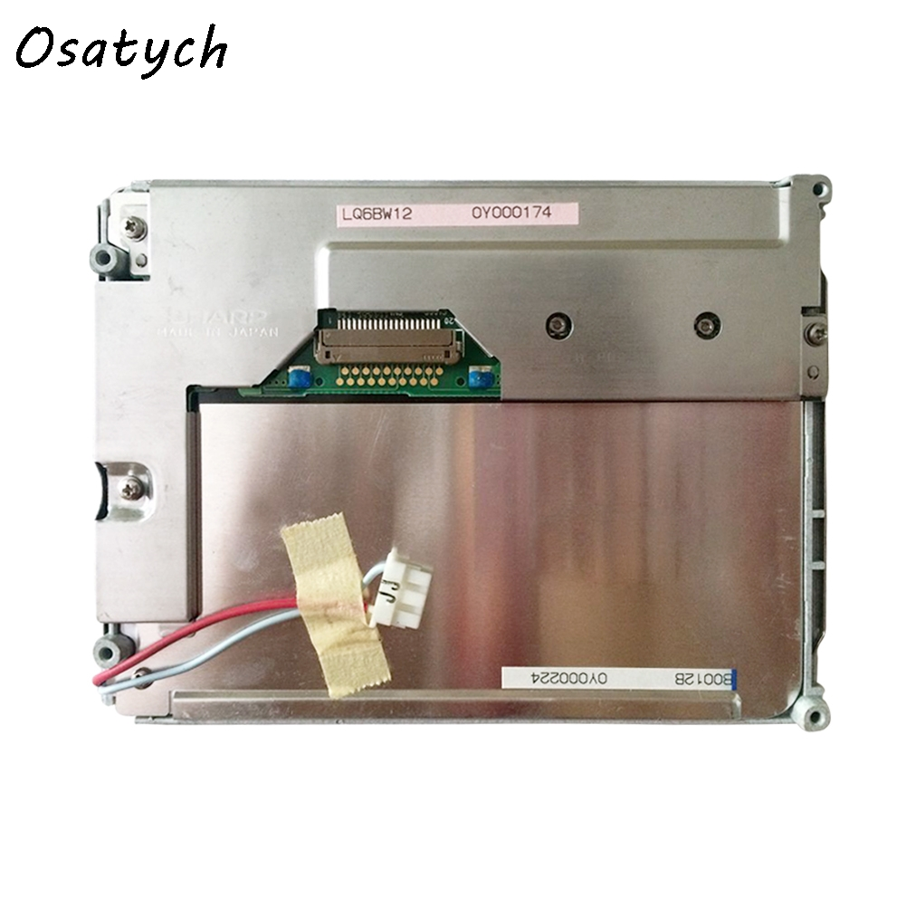 Used Original 5.6 Inch LQ6BW12  Industrial And Car DVD Player LCD Display Screen Panel 320*234  Free Shipping used original lq6an101 5 6 inch lcd display panel 320 234 free delivery