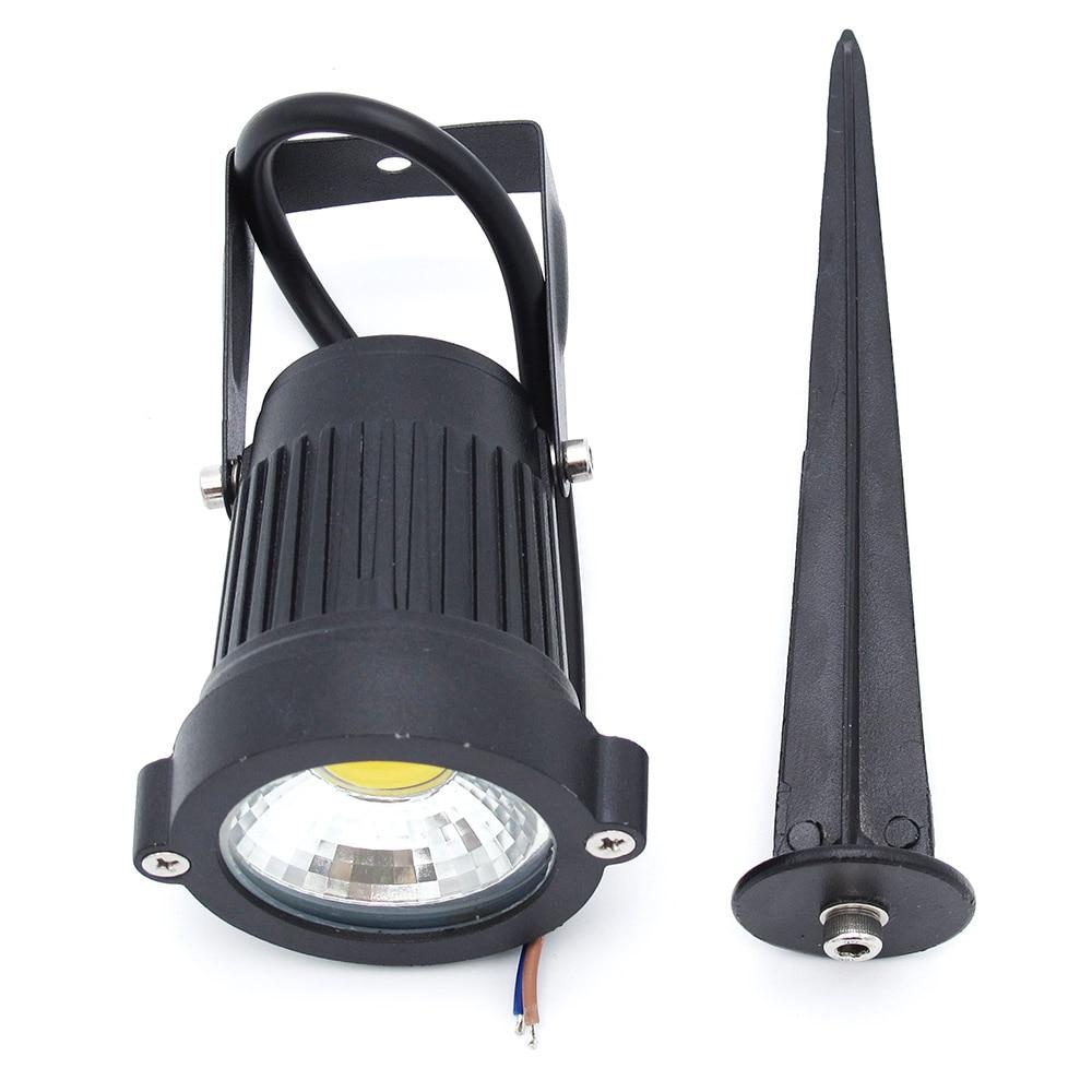 1pcs outdoor ip65 waterproof 15w led cob lawn light spike - Spot led ip65 12v ...