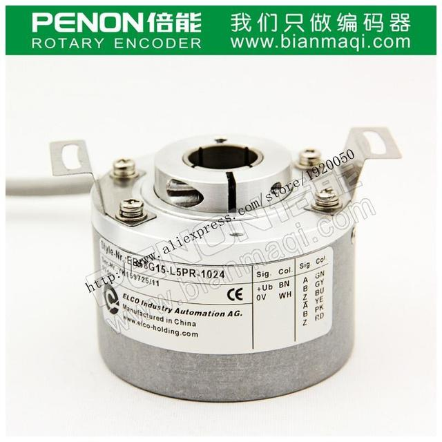 Elco ELCO EB58G15-L5PR-1024 rotary incremental encoders with hollow shaft 15mm1024 line