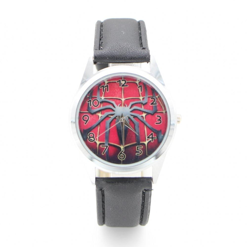e250c07bd10 2019 Nova desgin crianças dos desenhos animados Do Homem Aranha crianças  Geléia de Moda Relógios de