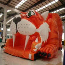 attractive animal inflatable slide bouncer YLW-189