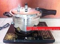 Бесплатная доставка скороварки из нержавеющей стали 18/10 thicking кастрюли горшок супа 5 13litre доступны работа на индукционная плита