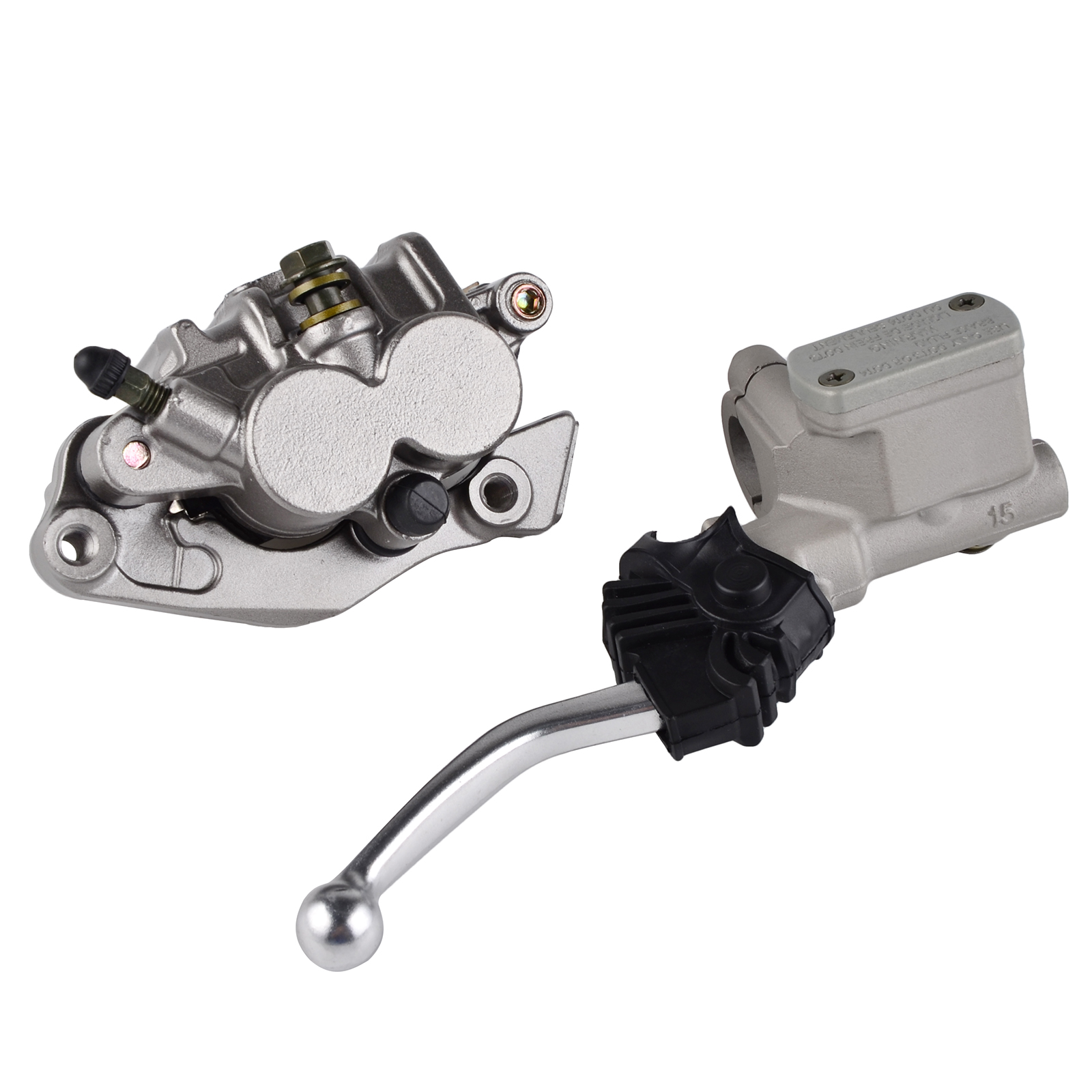 Motorcycle Front Master Cylinder Lever Brake Caliper Pads For Honda CR 125R CRF 125F 250R 250X
