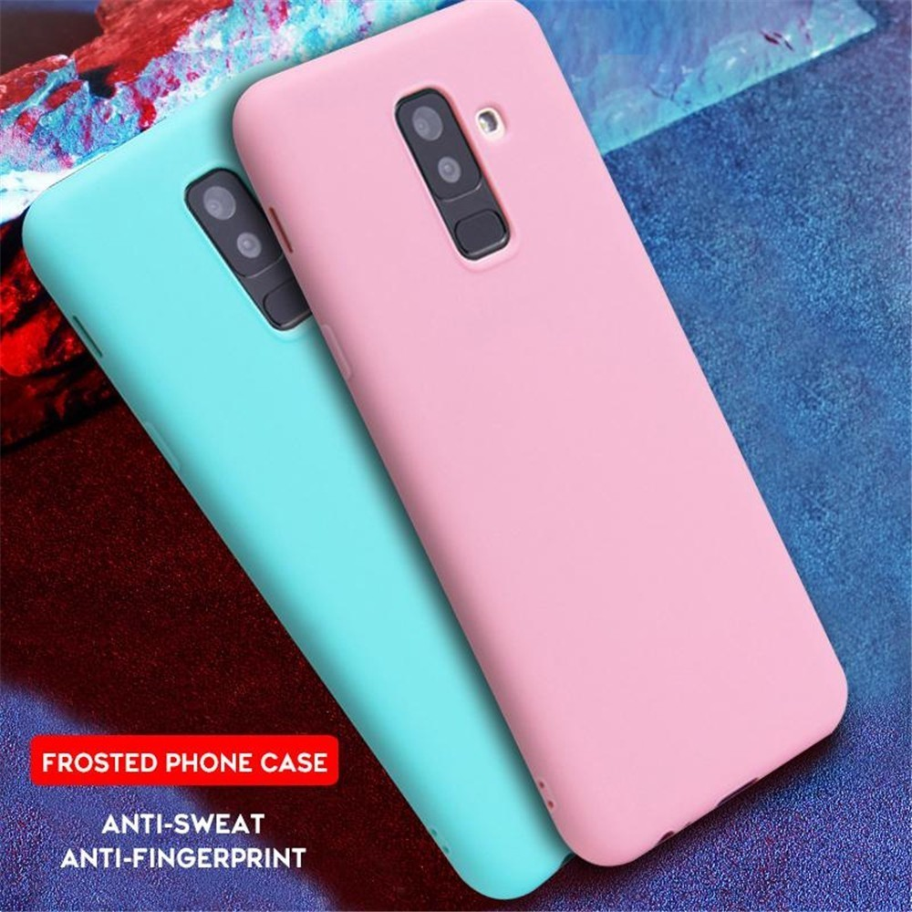 For Samsung Galaxy S10 Plus Case Silicone Soft TPU Phone Cover For A 10 20 30 40 50 60 70 M 2019 Matte Plain Candy Color Case in Fitted Cases from Cellphones Telecommunications