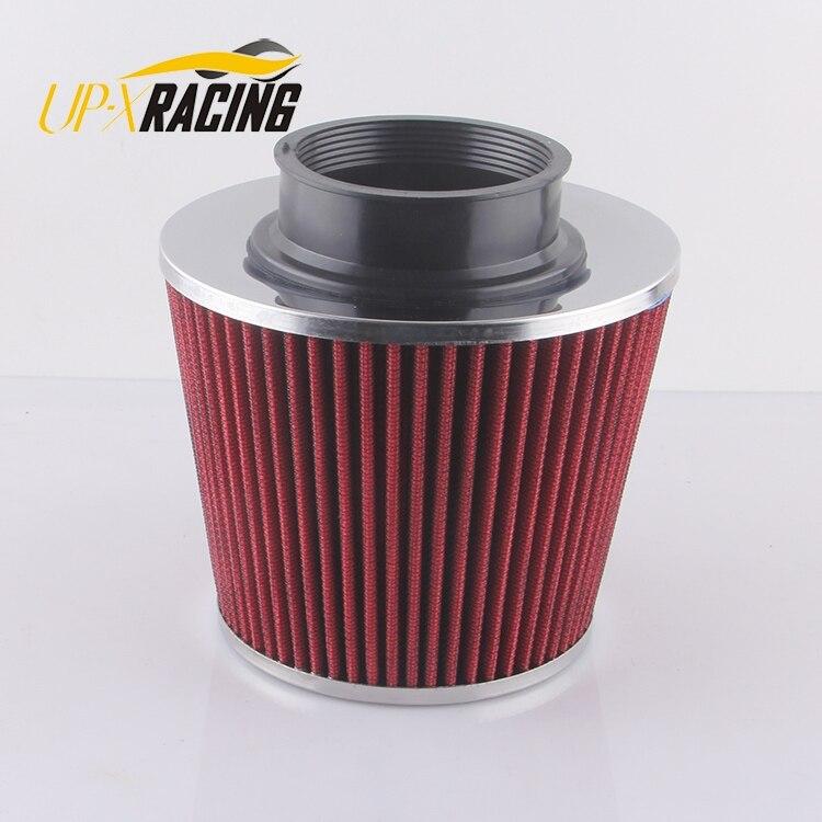 universal car high flow cold air intake air inlet air intake system mushroom head air filter neck 60/65/70/75 mm AF5001