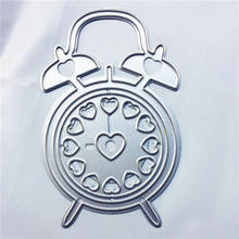 PANFELOU Easter Christmas clock Scrapbooking DIY album cards paper die metal craft stencils punch cuts dies cutting(China)