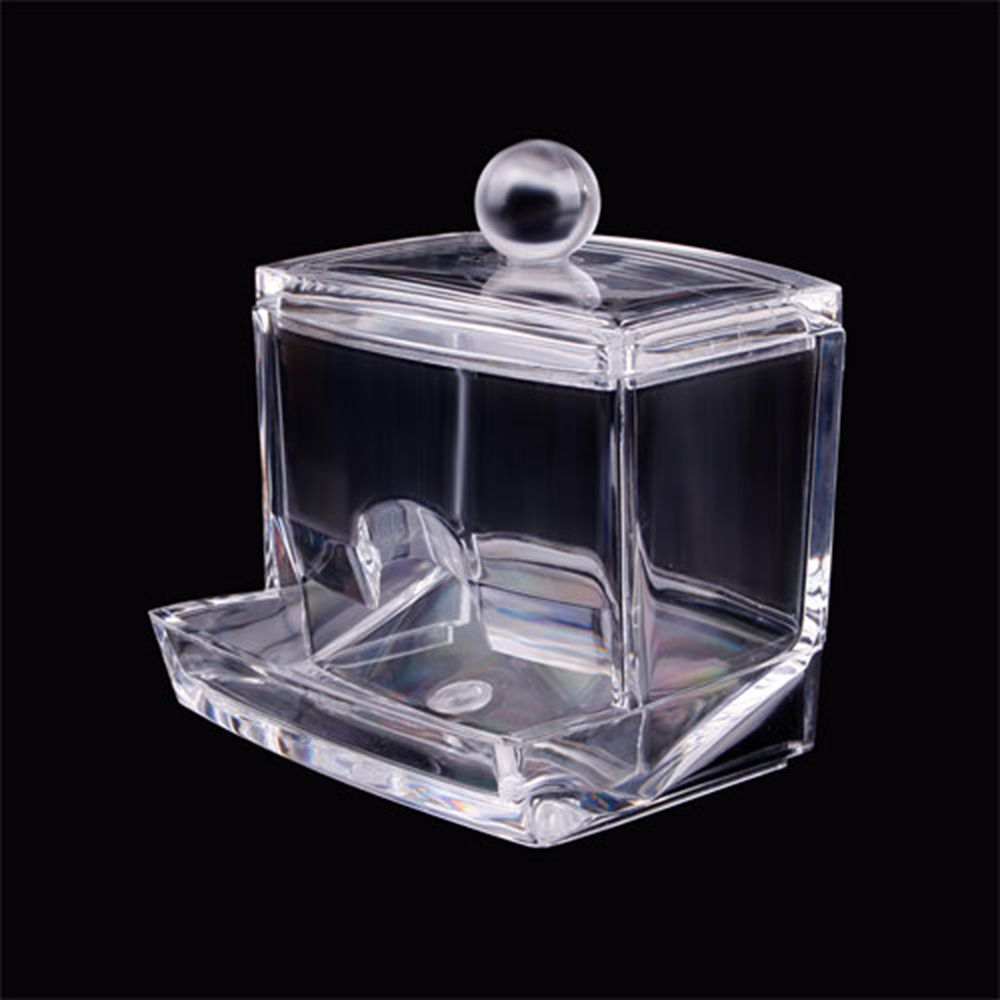 Aliexpress.com : Buy Storage Box Clear Acrylic Q tip Holder Box Cotton  Swabs Stick Storage Box Cosmetic Makeup Case from Reliable storage box  suppliers on ...