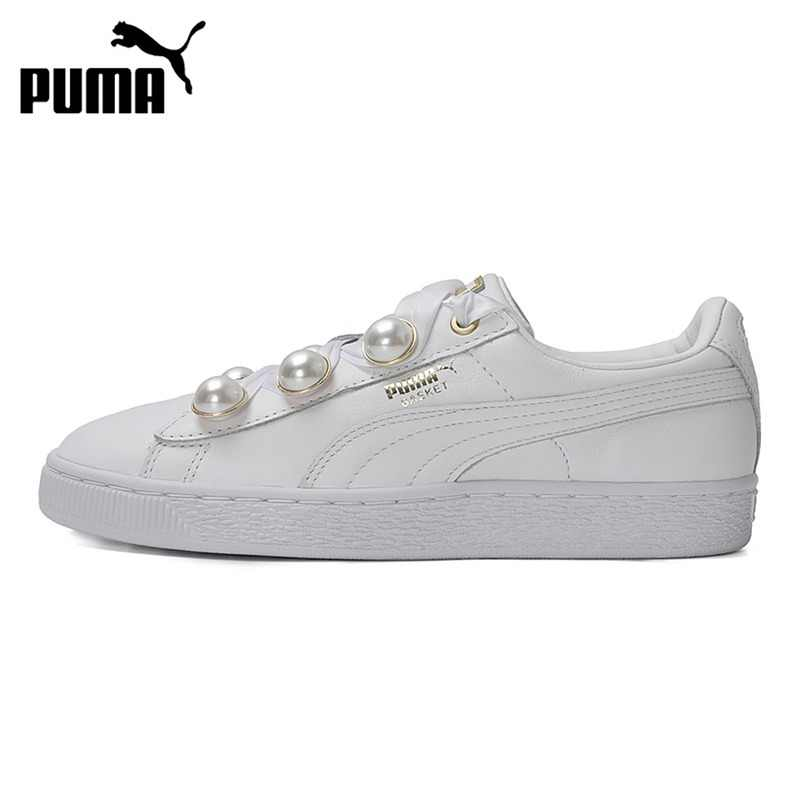 305144b9a39a Original New Arrival 2018 PUMA Basket Bling Women s Skateboarding Shoes  Sneakers