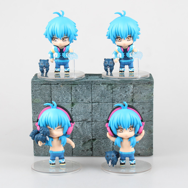Free Shipping 4pcs Cute Dramatical Murder DMMD Seragaki Aoba Ren Boxed 9cm PVC Action Figure Collection Model Doll Toy 4pcs set jane mcloughlin faith based organisations in new zealand