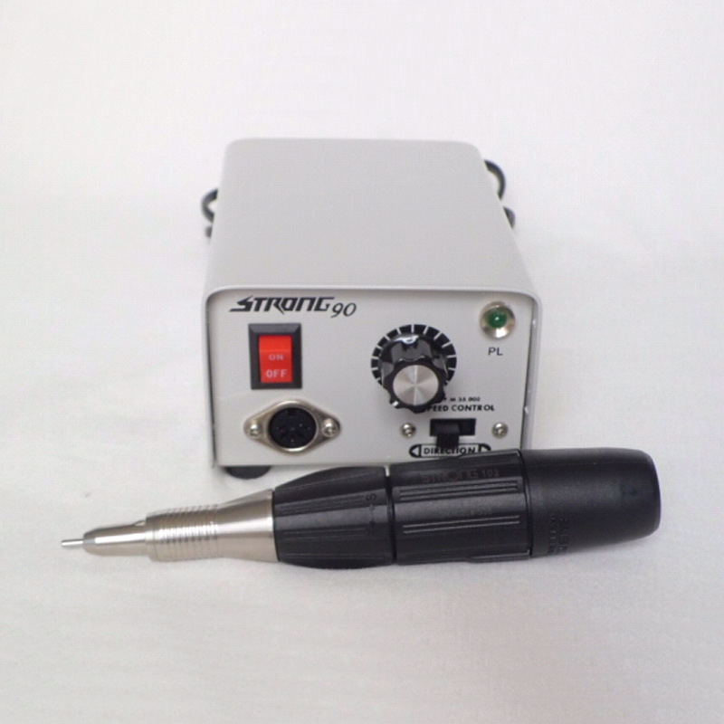 Dental machine Strong90 brush micromotor for nail grindingDental machine Strong90 brush micromotor for nail grinding