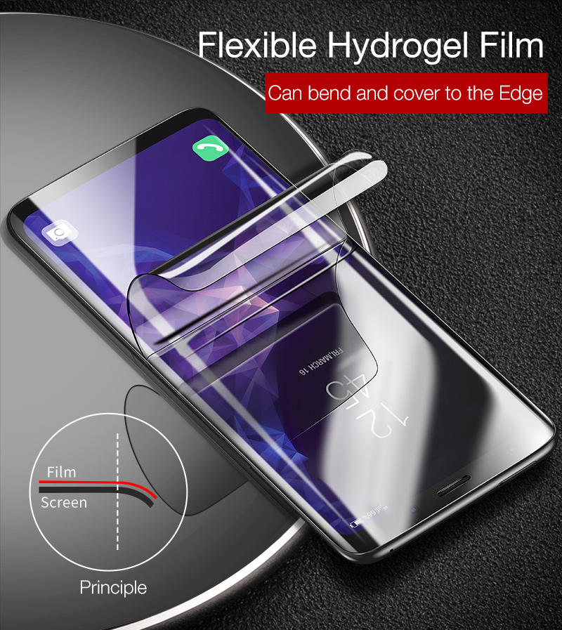 Hydrogel film for samsung galaxy s9 plus