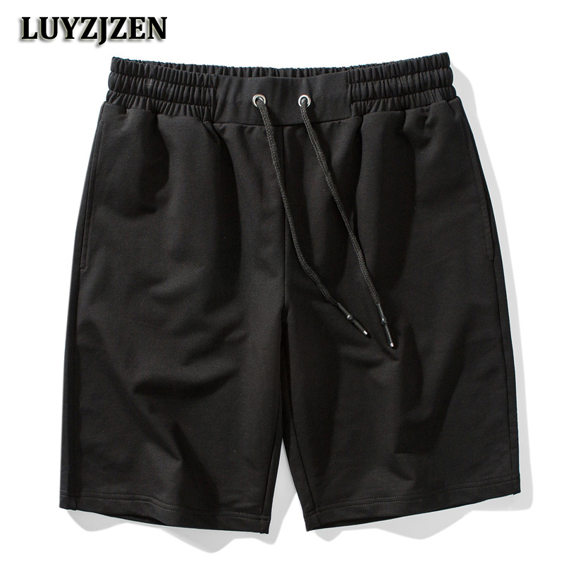 New Arrival Fashion 2018 Summer Shorts Men Beach Casual Solid Cotton Shorts Bermuda 6 Colors High Quality Trousers Big Size K19