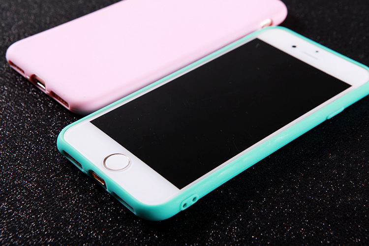 Mobile Phone - Silicone Matte Case For iPhone 11