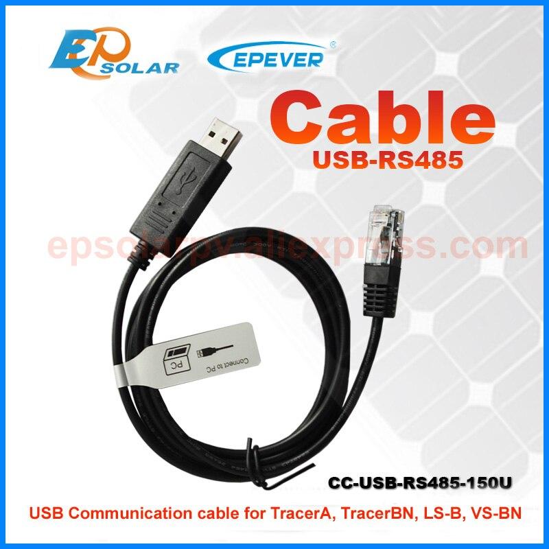 USb кабель и датчик температуры EPEVER EPsolar зарядное устройство применение контроллера - Цвет: USB