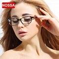 NOSSA Designer Korea Ultral Light TR90 Leopard Big Glasses Frame Women's Trendy Prescription Eyewear Frame