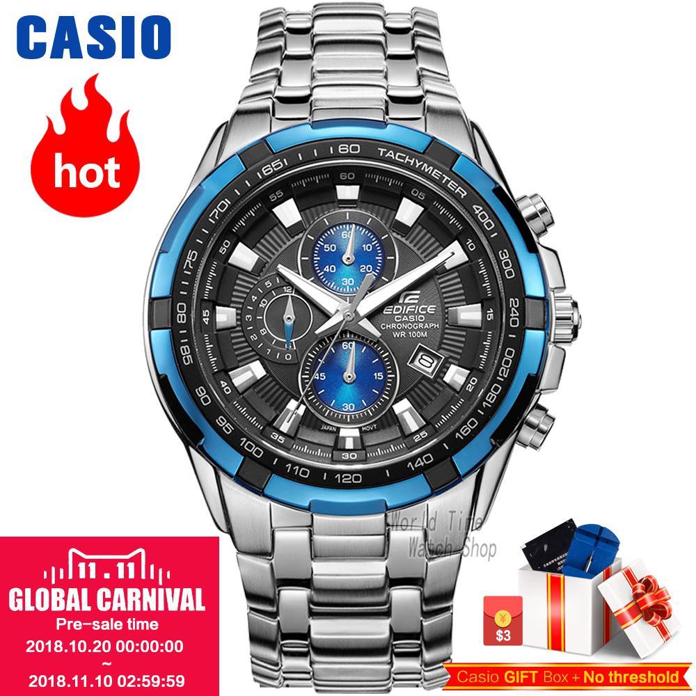 Casio watch Racing Men's Watch Sports Waterproof Quartz Watch EF-539D-1A2 EF-540D-7A EF-539D-1A EF-539D-1A5 EF-540D-1A мужские часы casio ef 540d 1a
