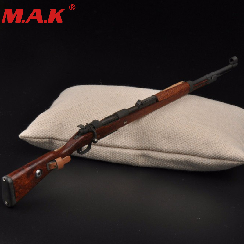 WWII German weapon model 1/6 scale Karabiner 98k rifle gun bayonet model toys for 12 action figure accessory gifts collection 1 6 scale wwii german admiral heydrich model action figure toys did 3r gm633 soldier toys collections m3